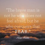 Overcoming Fear: Is it as simple as acknowledge, process and move on?